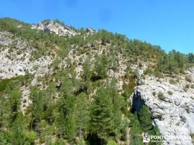 Hoz del Río Escabas - Serranía de Cuenca (Senderismo refrescante);sierra de guadarrama rutas sende